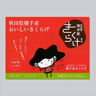 農園・商品紹介リーフレット